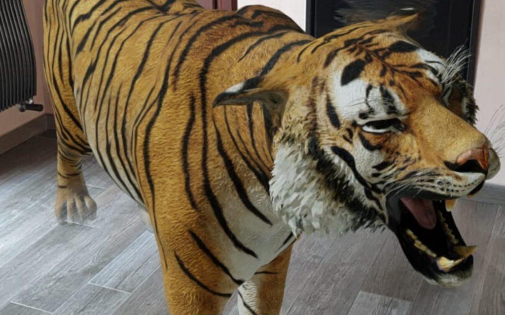 tigre in 3d