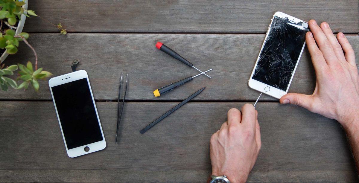 Riparazione schermo iPhone