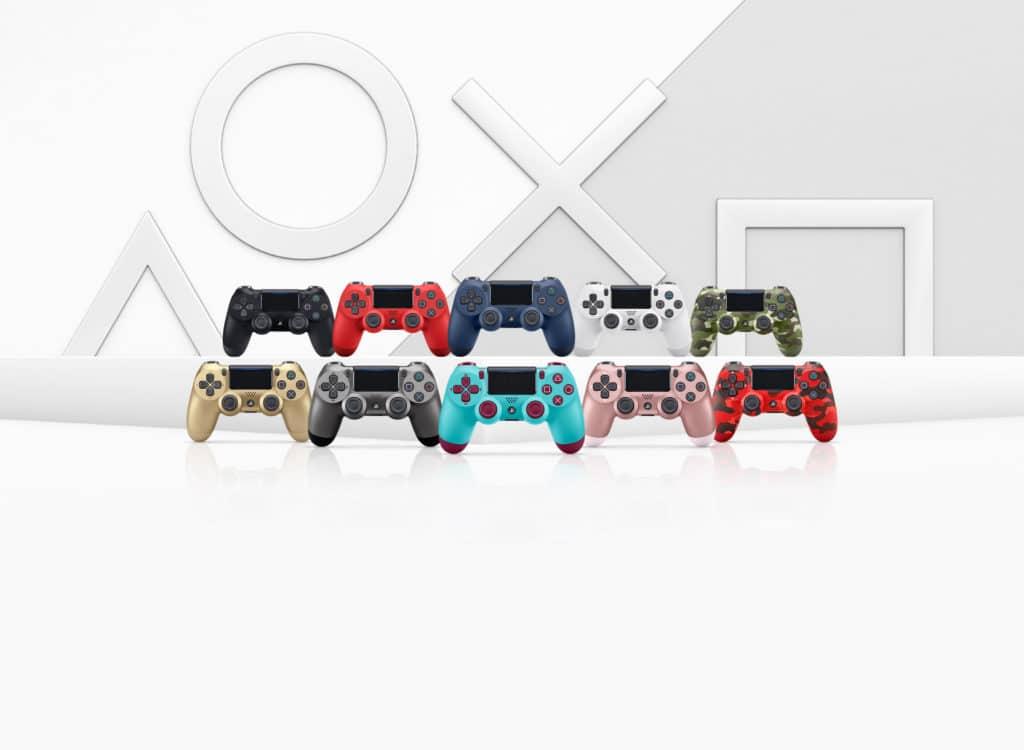 Dualshock 4 colori