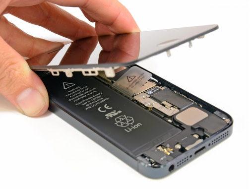 sollevamento schermo iPhone