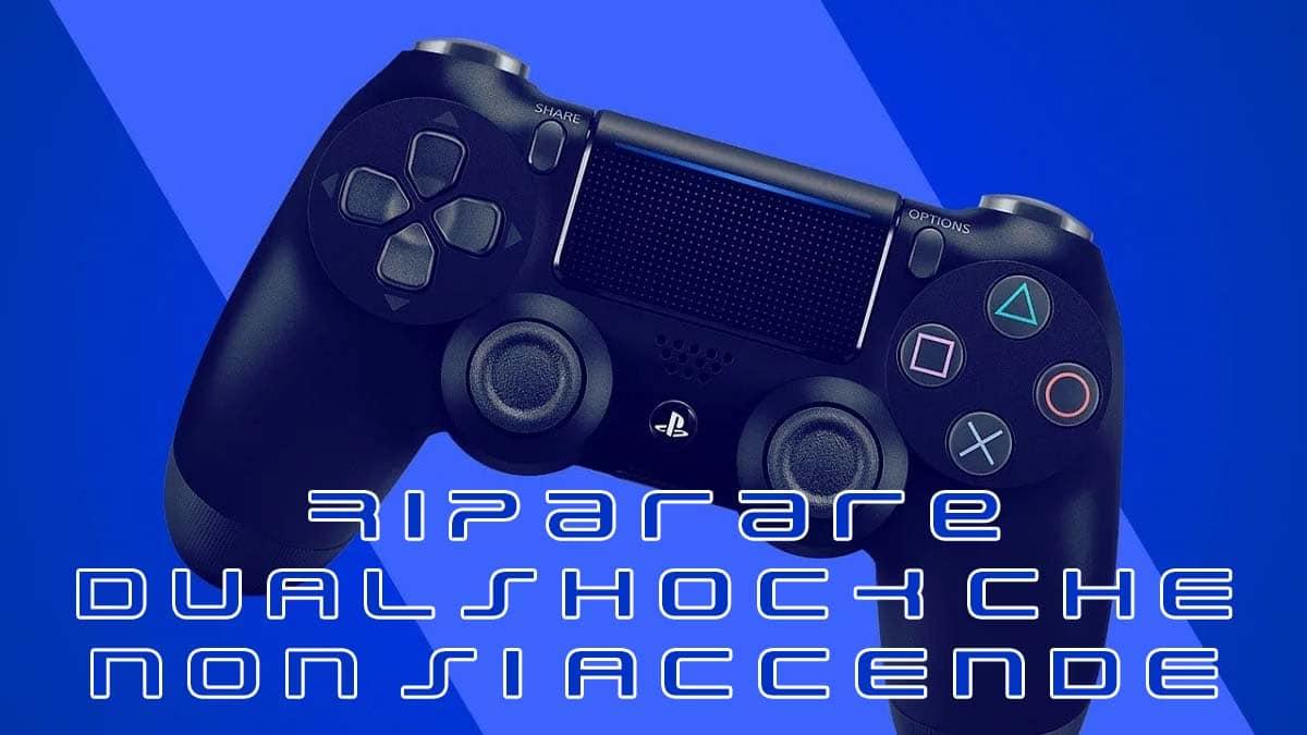 Controller PS4 non si accende più: cosa fare